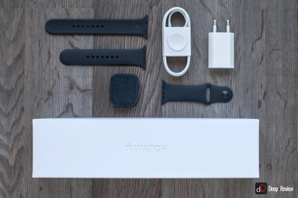 что внутри коробки Apple Watch 5