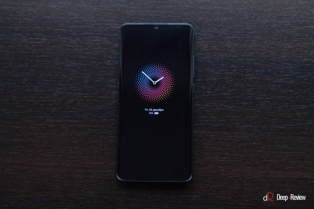AOD-дисплей Mi Note 10
