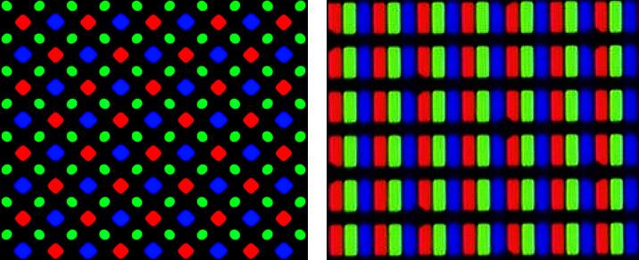сравнение суб-пикселей