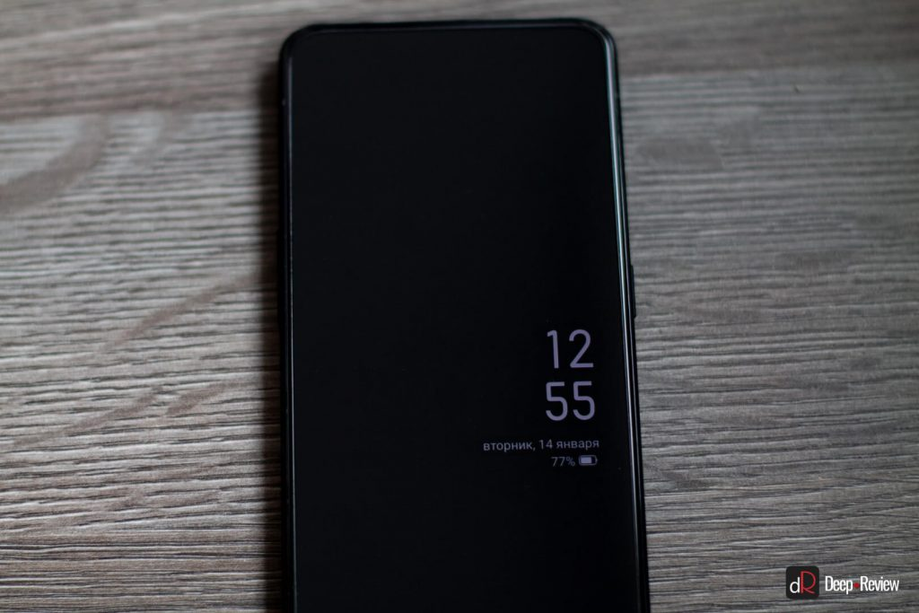 aod (always on display) на oppo reno 2