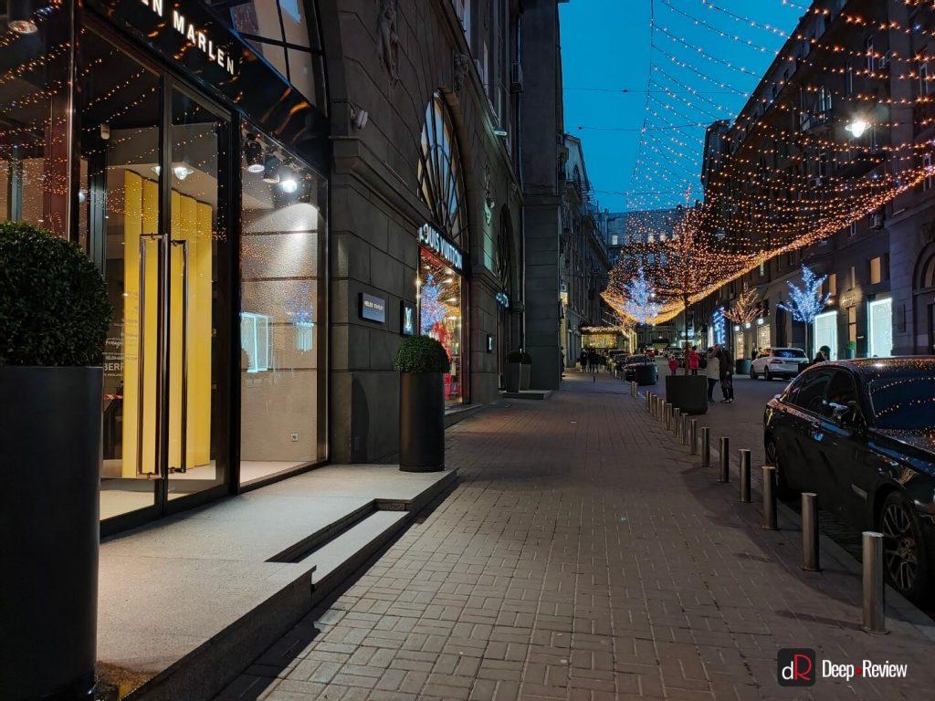 пример ночной фотографии на oppo reno 2