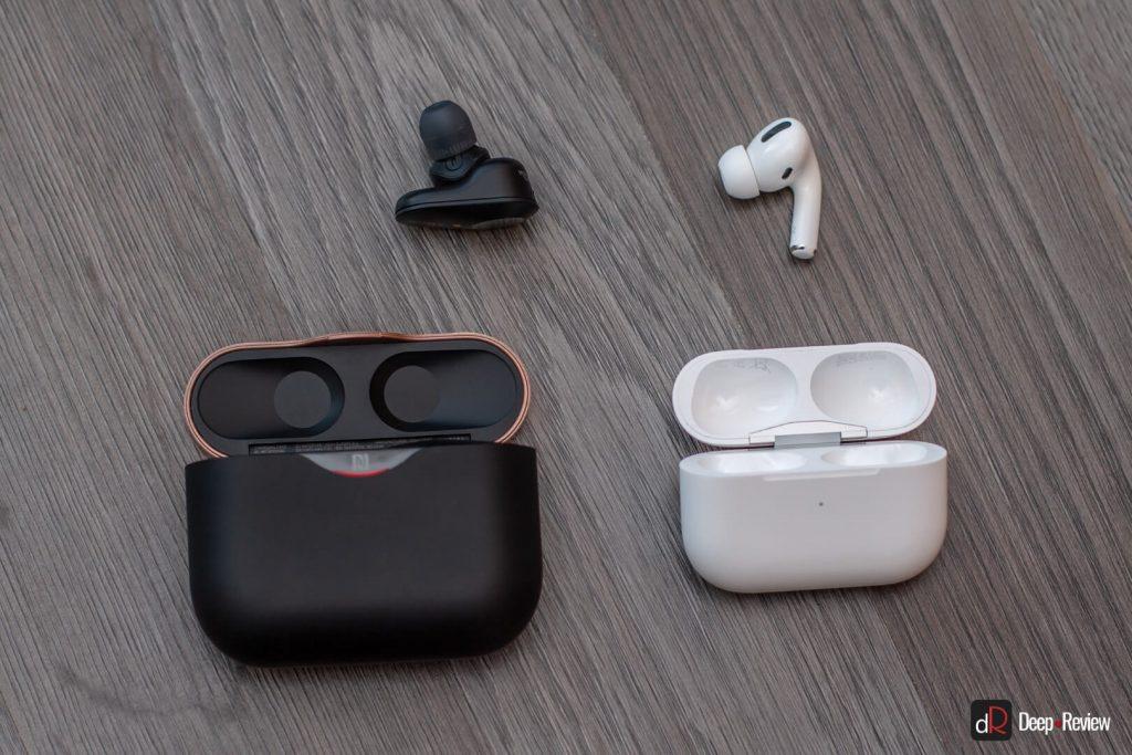 сравнение наушников apple airpods pro и sony wf-1000xm3