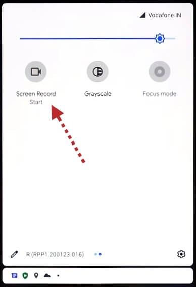 запись видео с экрана android 11