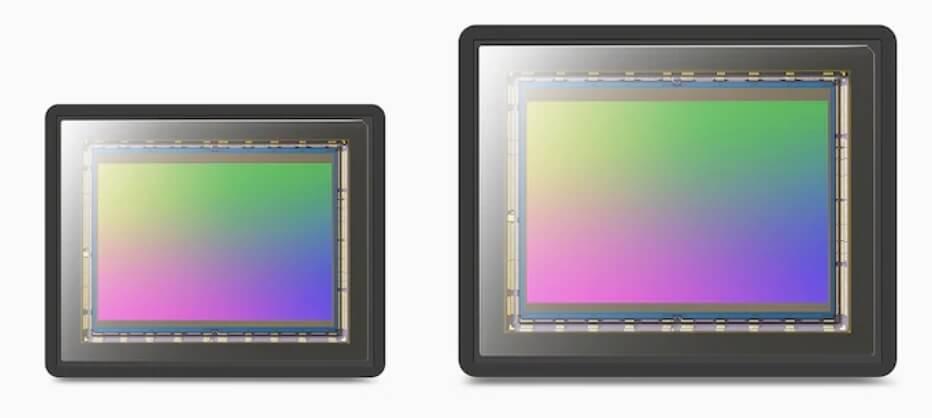 размеры матриц Sony Xperia 1 и Sony Xperia 1 II