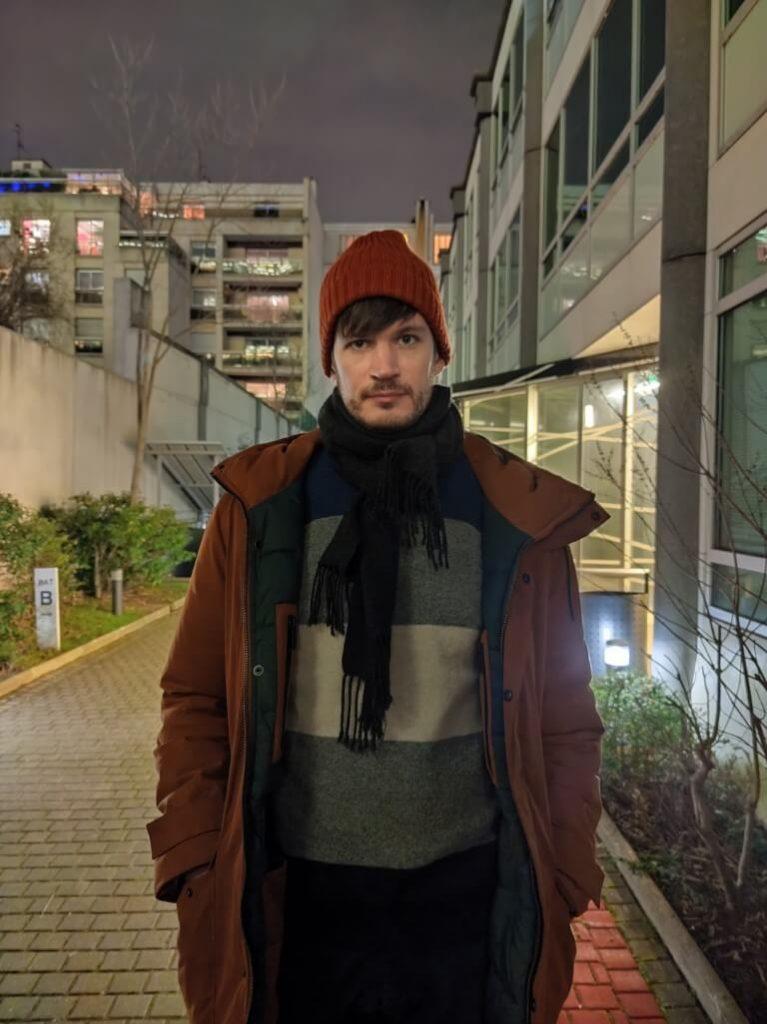 портрет ночью на xiaomi mi 10 pro