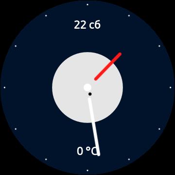 Simple Weather циферблат для Galaxy Watch