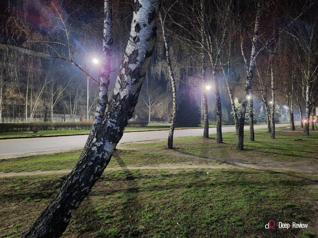 пример ночной съемки на galaxy s20