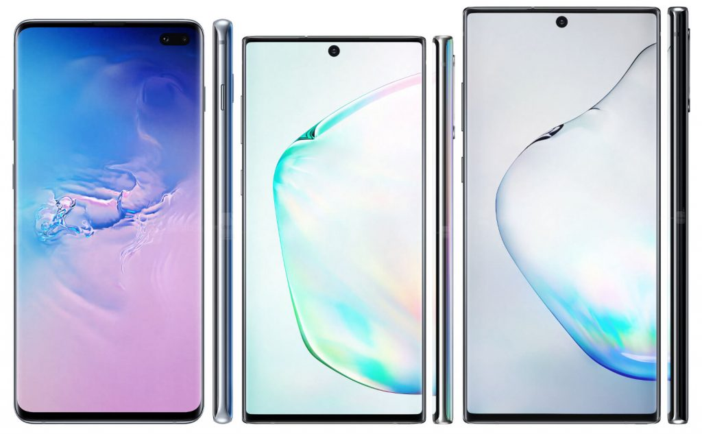 galaxy s10+ vs note 10 vs note 10+