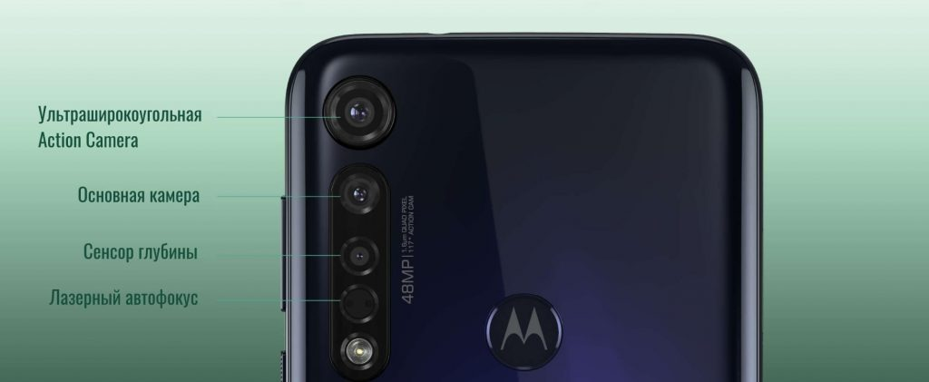 набор камер Motorola Moto G8 Plus