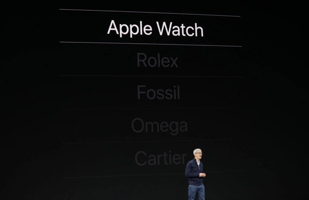 apple watch обошли rolex