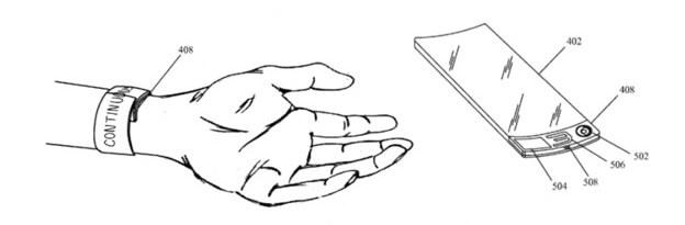 патент Apple на носимое устройство