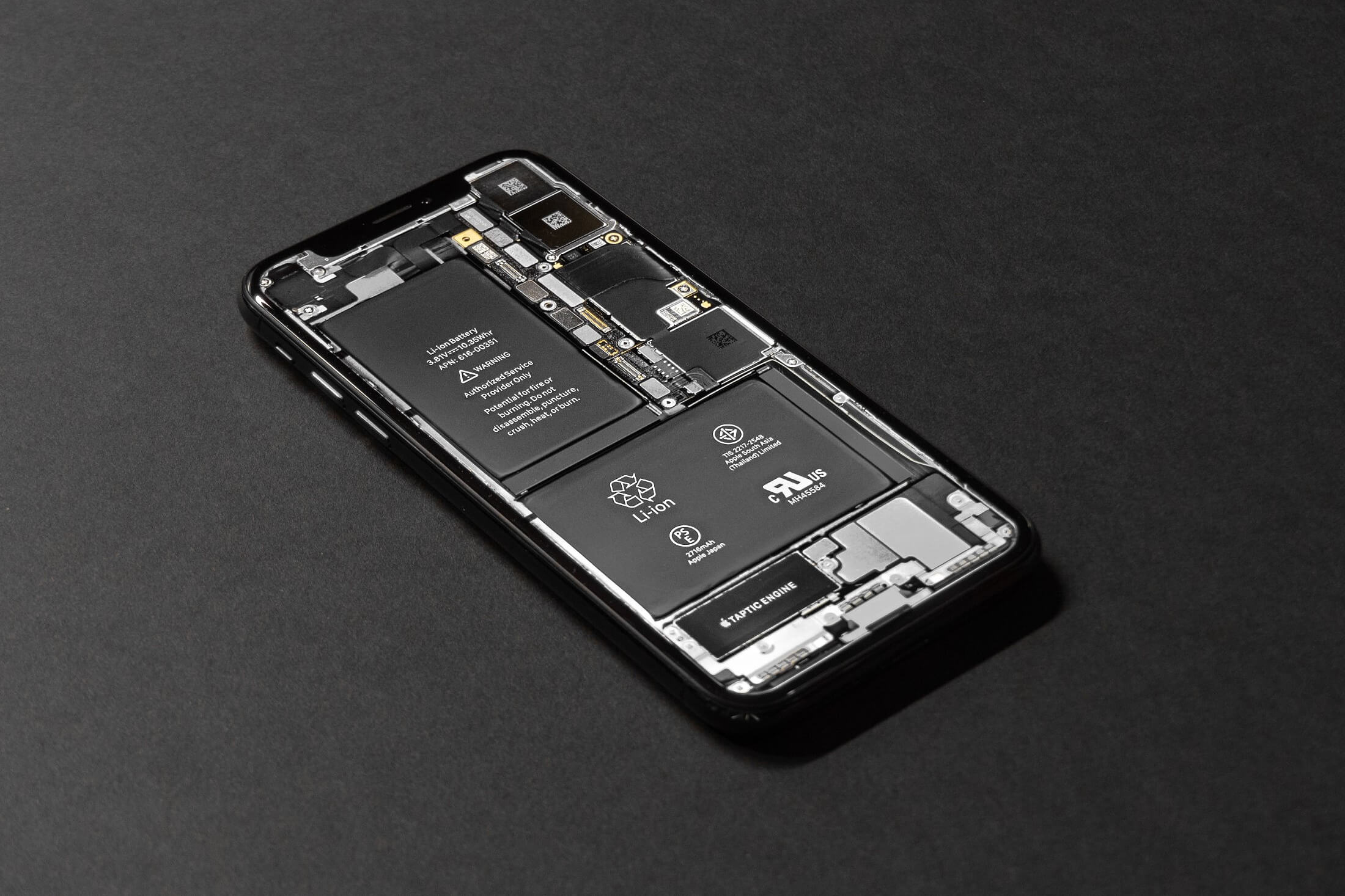литий-ионная батарея (li-ion аккумулятор) телефона