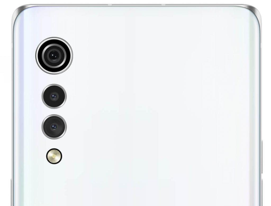 lg velvet дизайн камер
