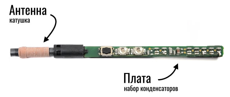 перо s-pen в разобранном виде