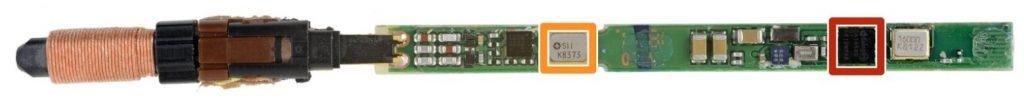 суперконденсатор (ионистор) внутри S Pen