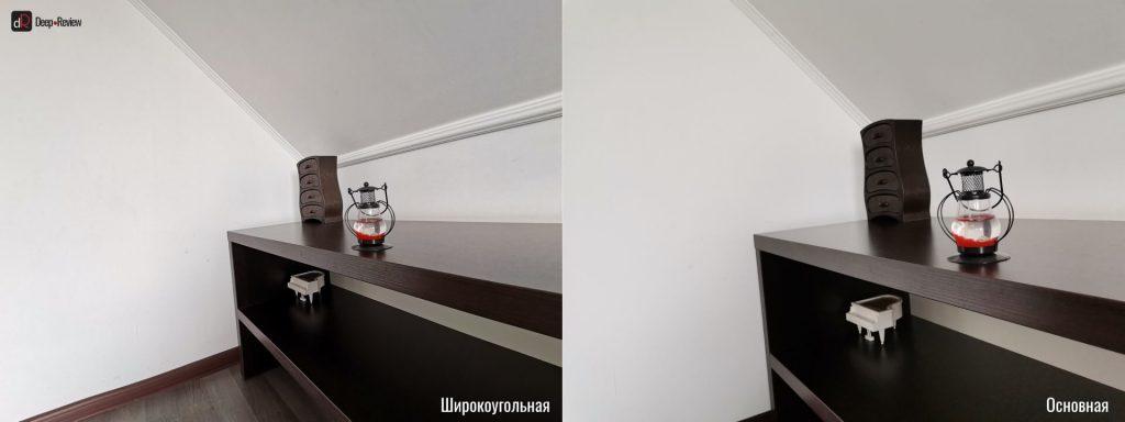 сравнение широкоугольной и сверхширокоугольной камер p40 lite
