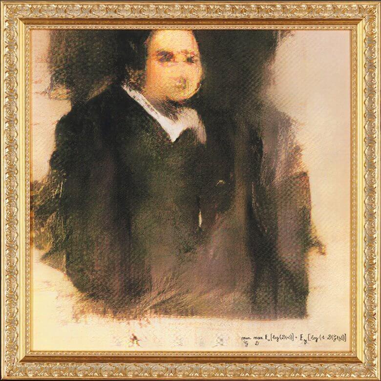 портрет нарисованный искусственным интеллектом