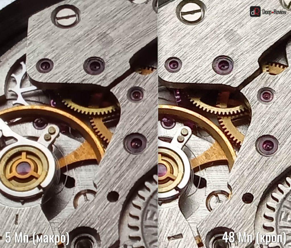 Сравнение 48 Мп и макро-камеры Galaxy A31