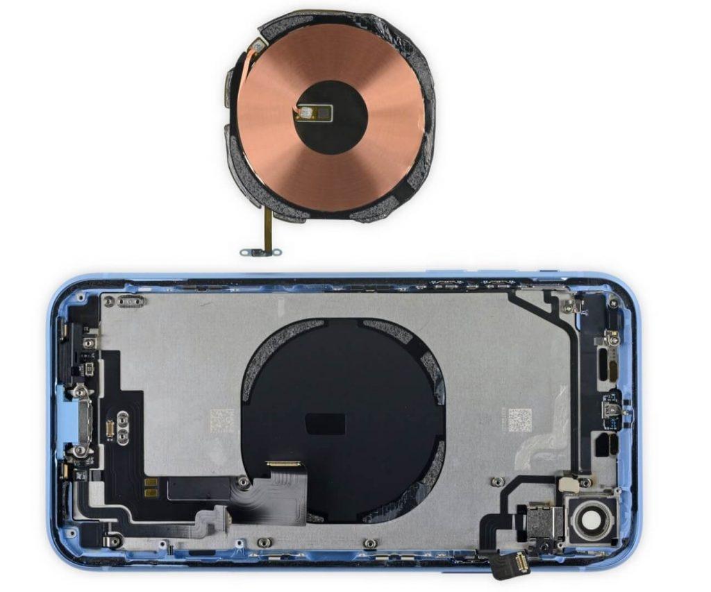 катушка беспроводной зарядки iPhone XR