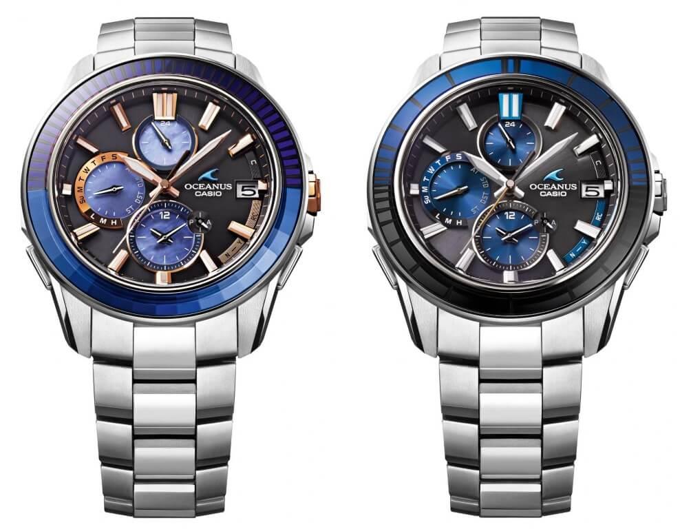 часы Oceanus с безелем эдо-кирико