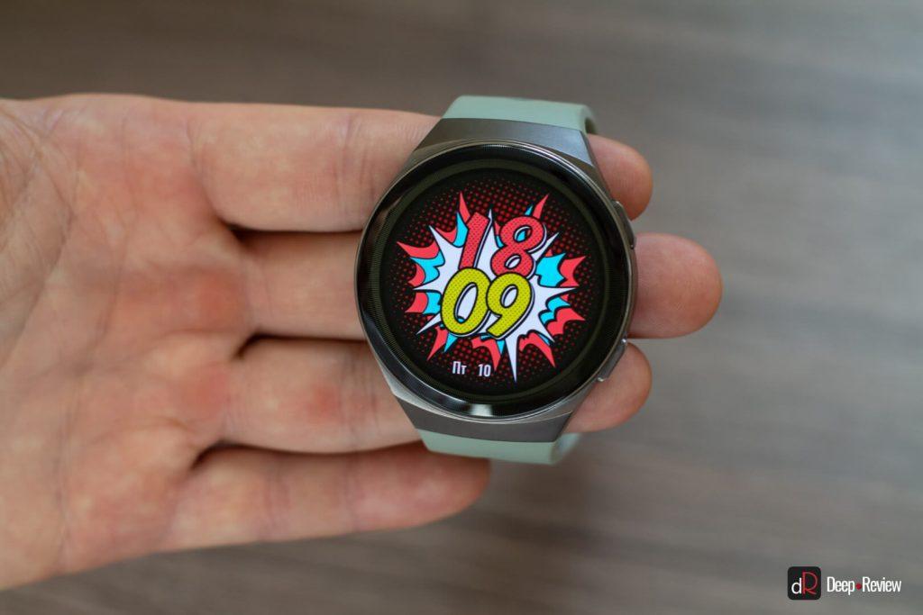 качество экрана huawei watch gt 2e