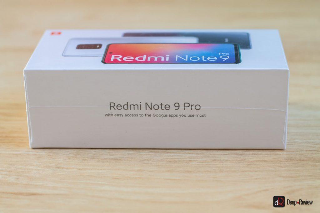 коробка redmi note 9 pro
