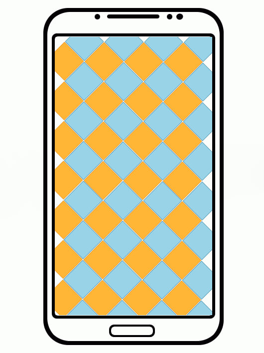 схема смартфона с тачскрином