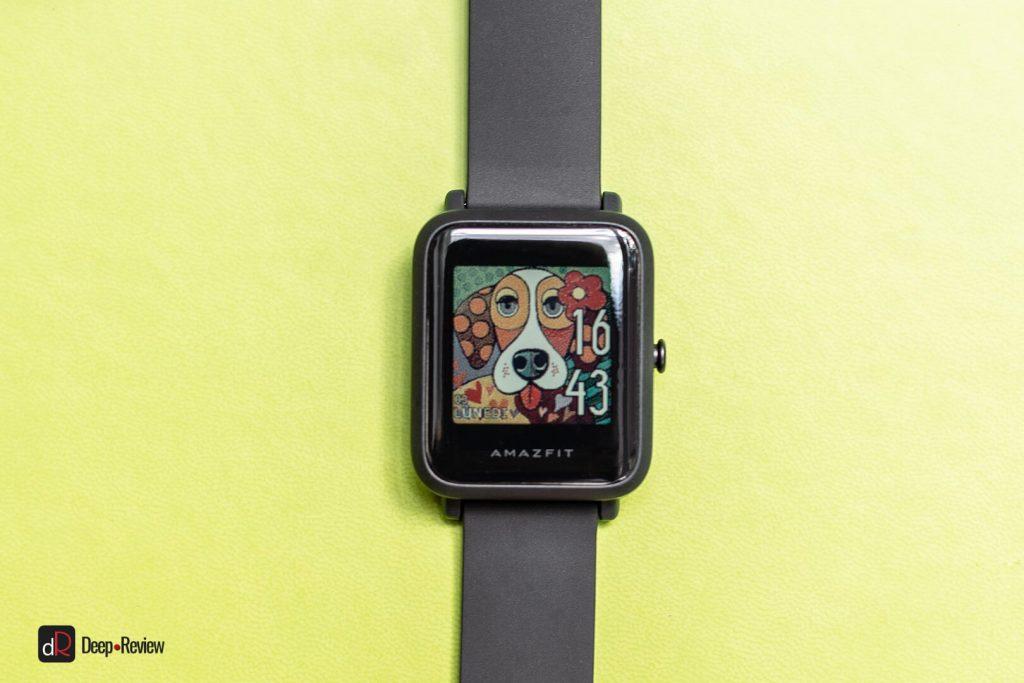 цвета на экране amazfit bip s