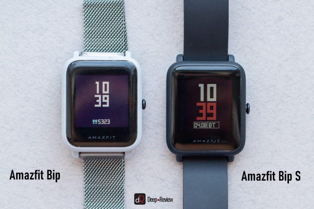 черный цвет на экранах amazfit bip и bip s