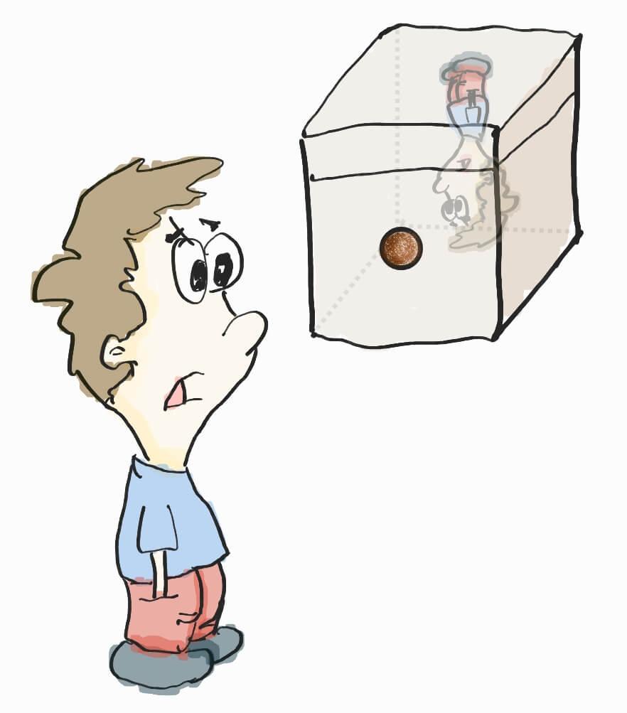 пример камеры обскура