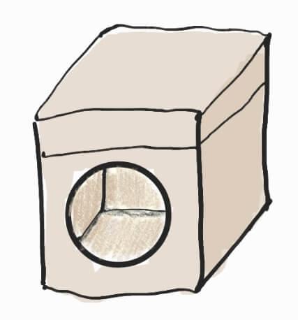 коробка с большим отверстием
