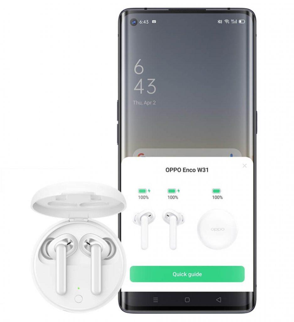 подключение наушников к смартфонам OPPO