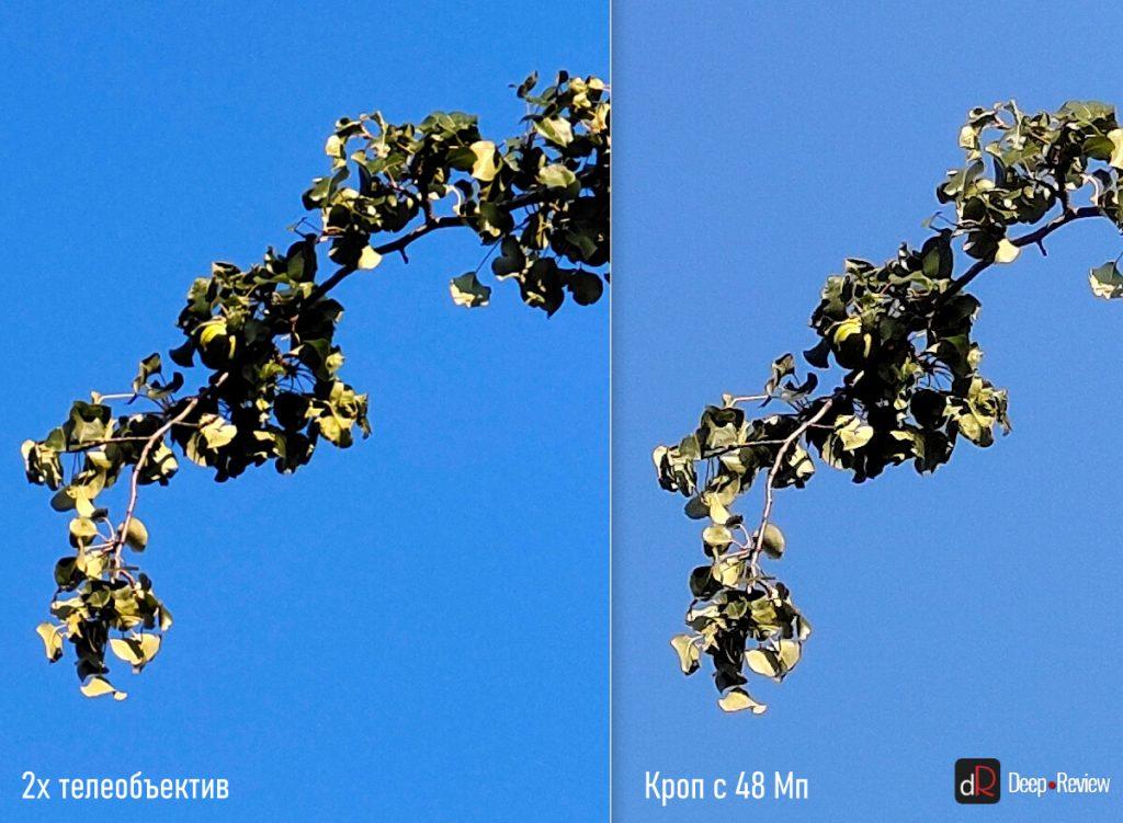 сравнение телеобъектива и 48 мп камеры vivo x50
