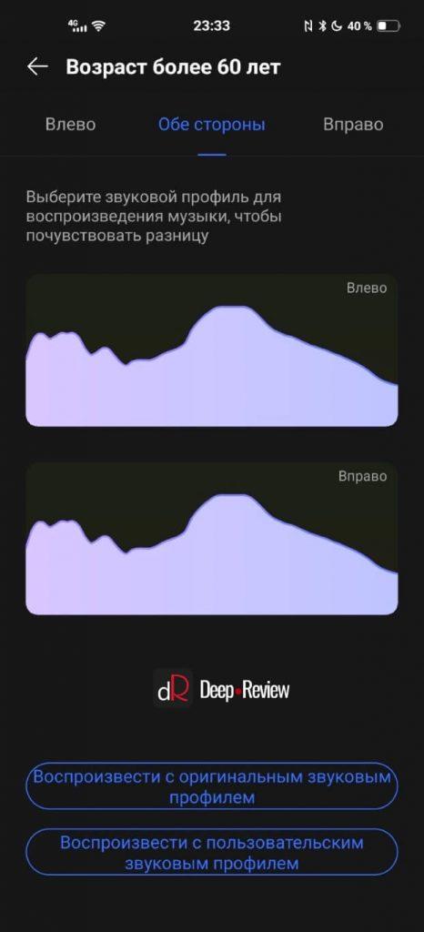 звуковой профиль Vivo