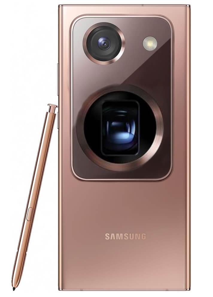 galaxy note 20 ultra с огромной камерой