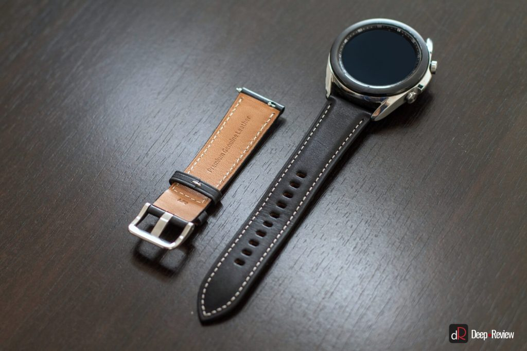 кожаный ремешок galaxy watch 3