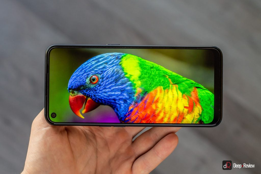 качество экрана oppo a53