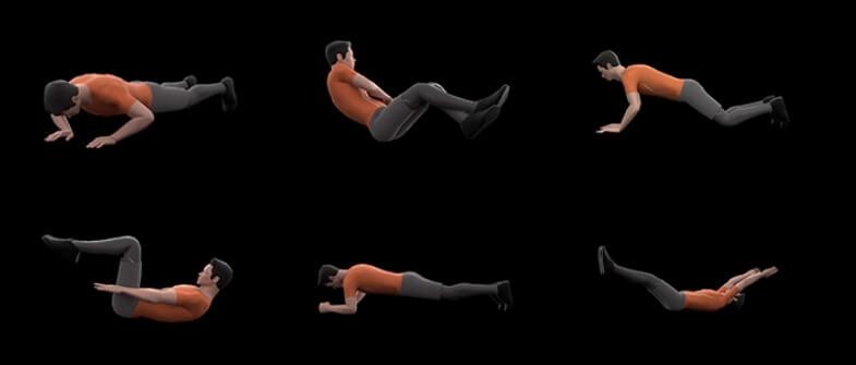 анимированные тренировки с инструктором
