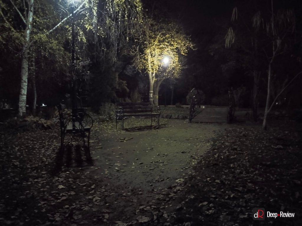пример ночной съемки на vivo v20 se