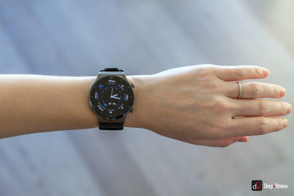 huawei watch gt 2 pro на женской руке