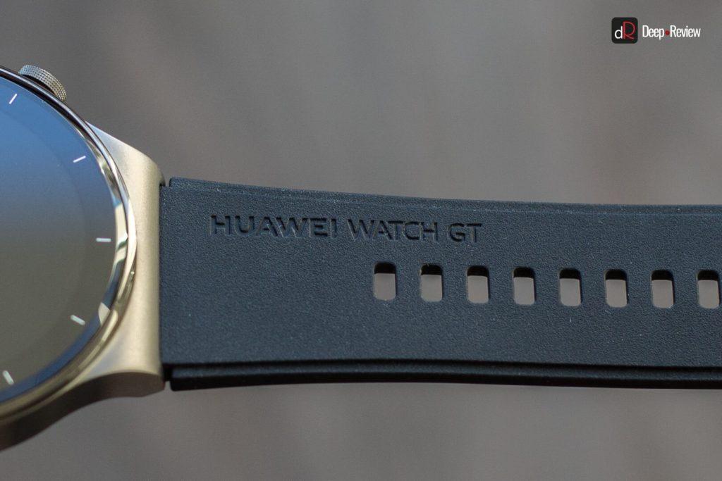 каучуковый ремешок huawei watch gt 2 pro