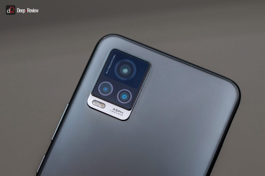 дизайн камеры vivo v20