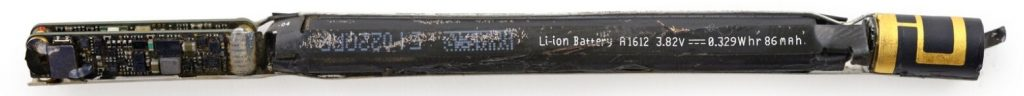 аккумулятор внутри apple pencil