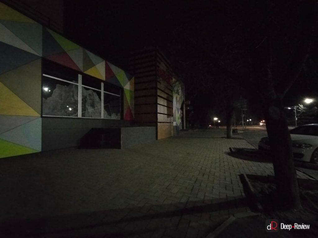 ночной режим на ультраширокоугольную камеру oppo a73