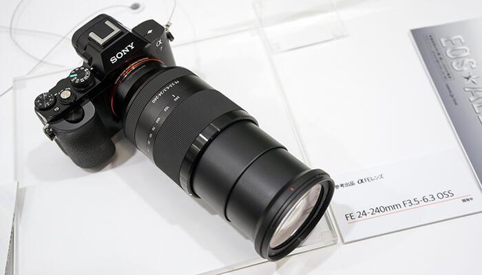 объектив 240 мм