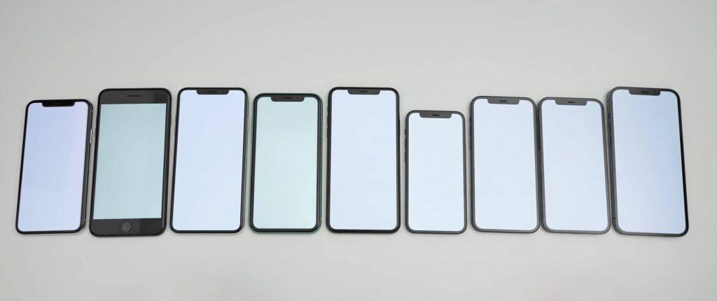 баланс белого разных экранов iphone