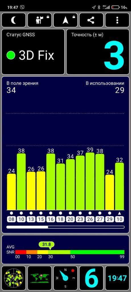 тест GPS на Redmi Note 10 Pro