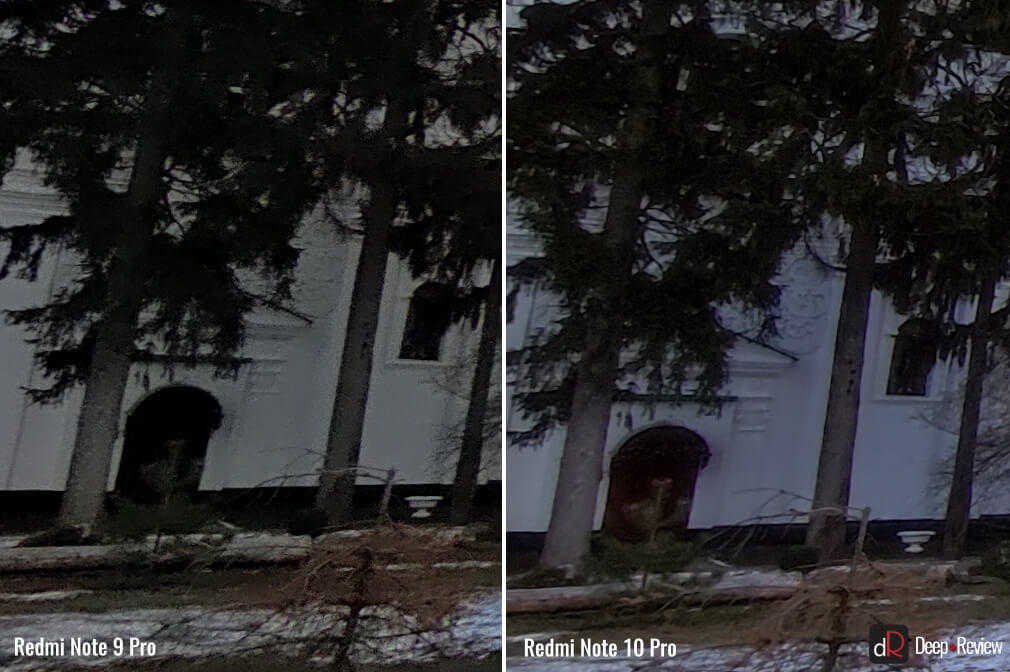 сравнение ультраширокоугольной камеры redmi note 9 pro и redmi note 10 pro