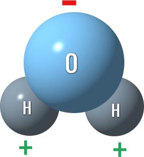 молекула воды h2o
