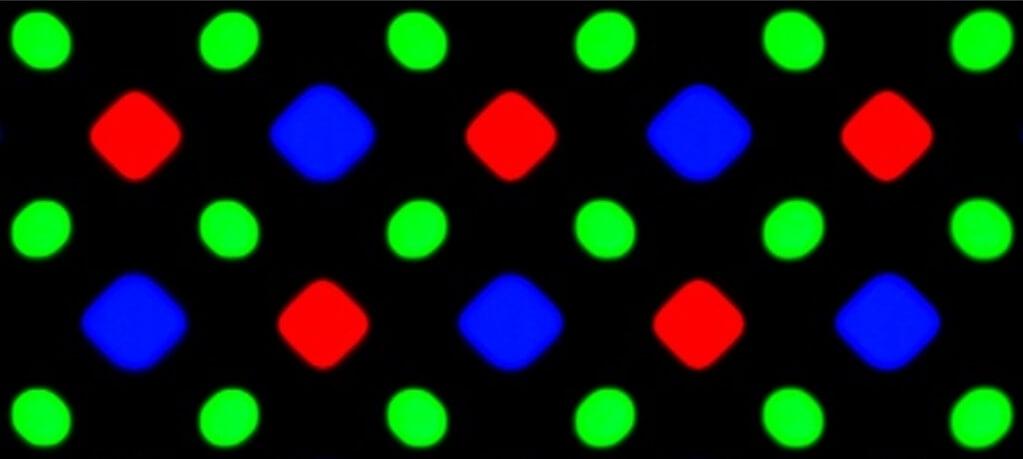 субпиксели OLED-экранов